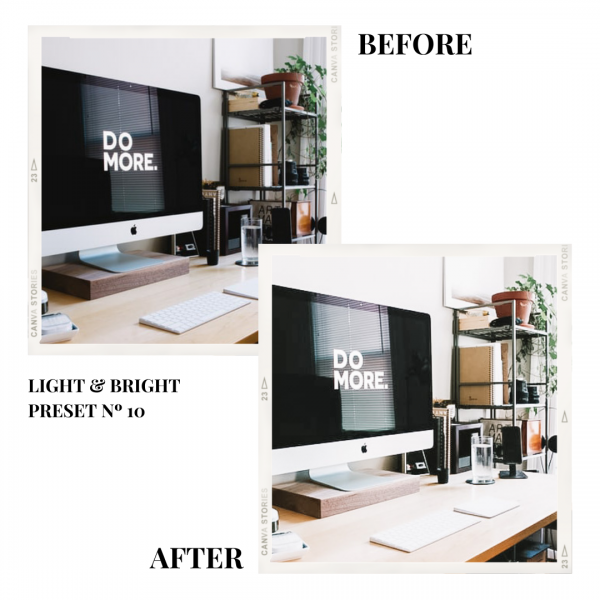 Light Bright Preset 10