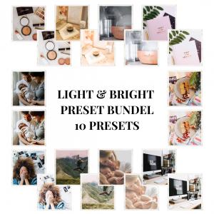 bright light preset bundel