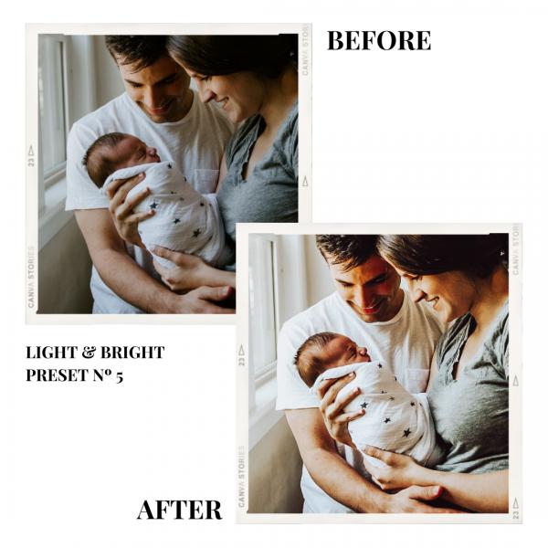 Light Bright Preset 5